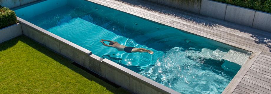 Zwembad Polyester Gebruikt.T Groene Plan Bio Zwembad