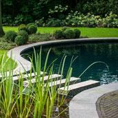 T groene plan hybride zwemvijver for Zwemvijver afmetingen